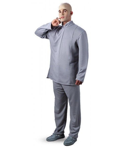 Austin Powers Dr.-Evil Deluxe Mens Plus Size Costume