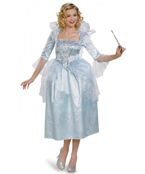 Disney Cinderella Movie Fairy Godmother Womens Plus Size Costume