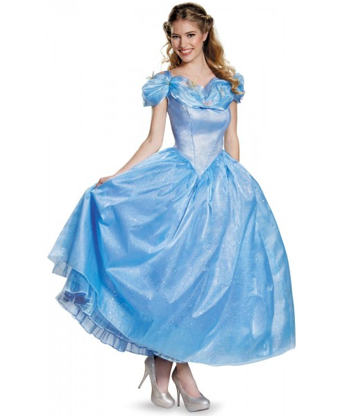Disney Cinderella Movie Prestige Cinderella Womens Plus Size Costume