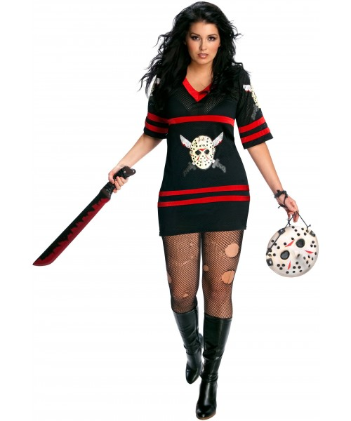 Friday The 13th Sassy Miss Voorhees Womens Plus Size Costume