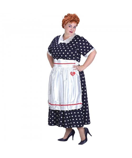 I Love Lucy Classic Womens Plus Size Costume