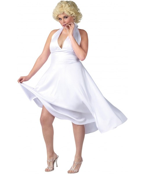 Marilyn Monroe Deluxe Classic Womens Plus Size Costume