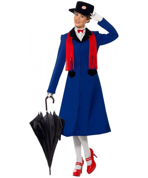 Mary Poppins Womens Plus Size Costume