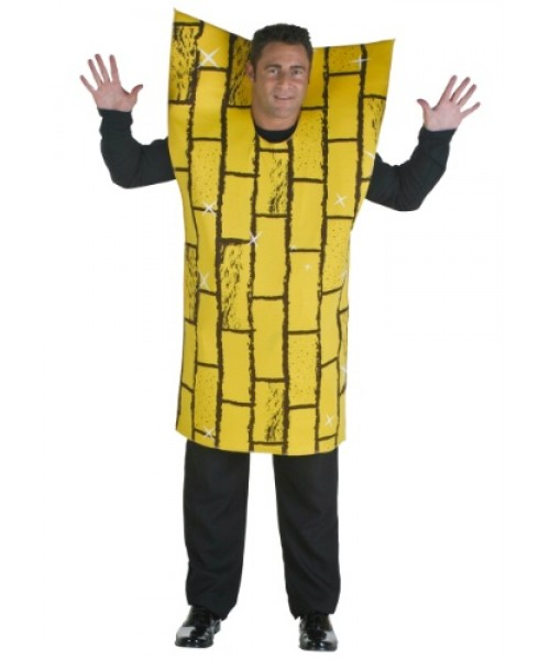 Mens Adult Yellow Brick Road Plus Size Costume