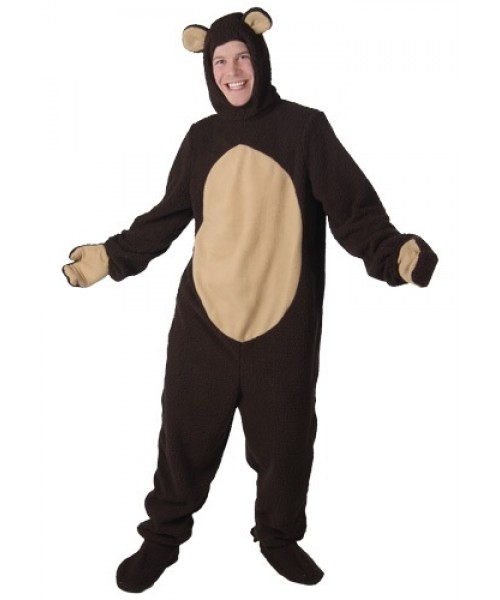 Mens Bear Plus Size Costume