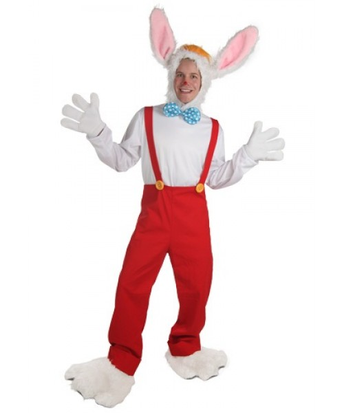 Mens Cartoon Rabbit Plus Size Costume