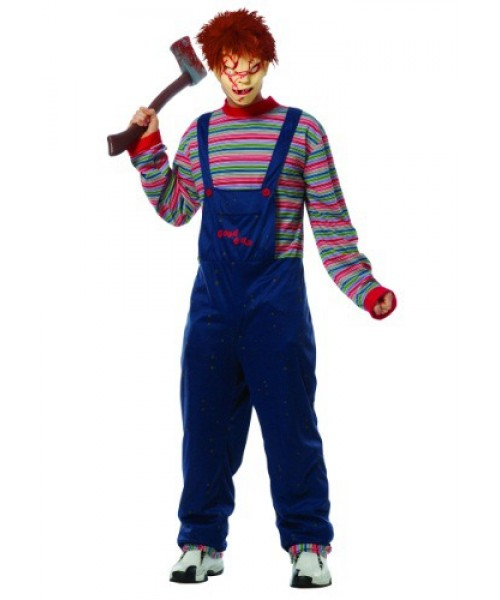 Mens Chucky Plus Size Costume