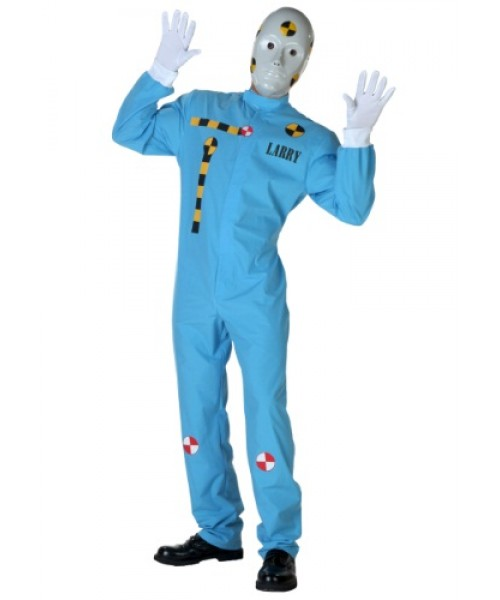 Mens Crash Test Dummy Plus Size Costume