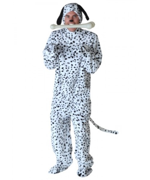 Mens Dalmatian Plus Size Costume