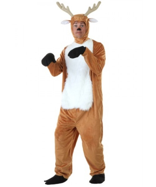 Mens Deer Plus Size Costume