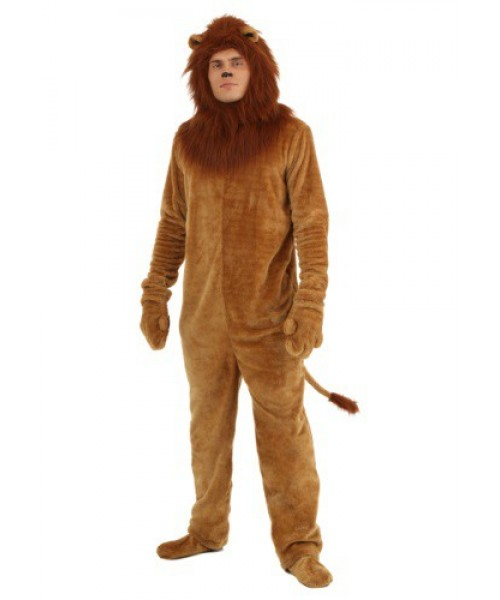 Mens Deluxe Lion Plus Size Costume