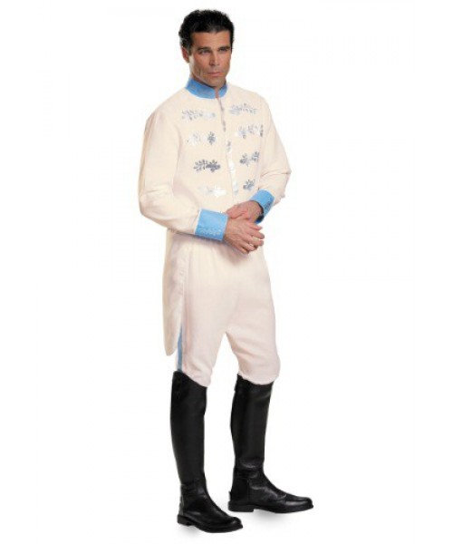 Mens Deluxe Prince Charming Plus Size Costume