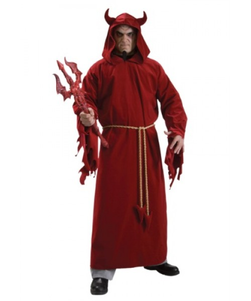 Mens Devil Lord Plus Size Costume