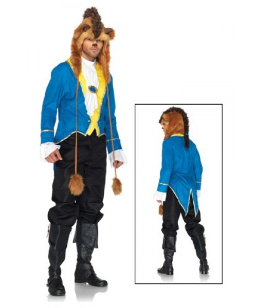 Mens Disney Beast Plus Size Costume