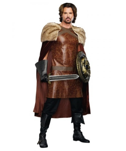 Mens Dragon Warrior King Plus Size Costume