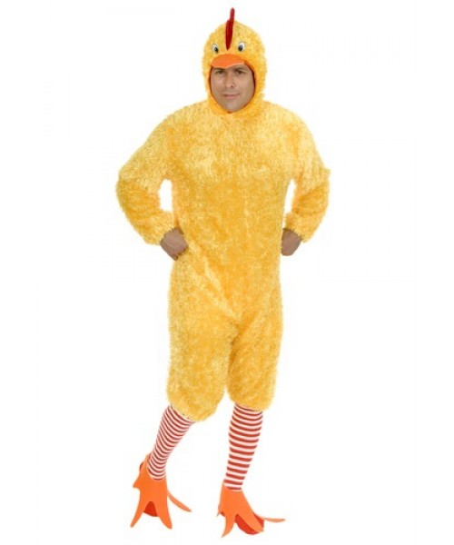 Mens Funky Chicken Plus Size Costume