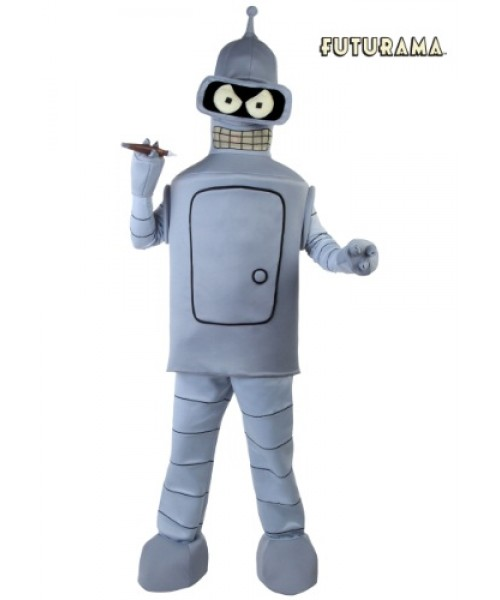 Mens Futurama Bender Plus Size Costume