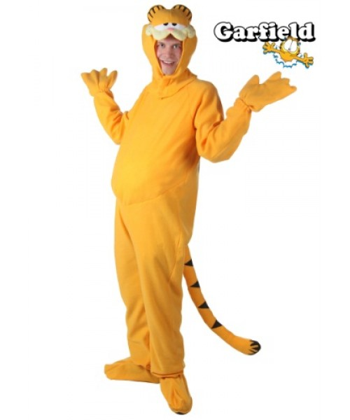 Mens Garfield Plus Size Costume