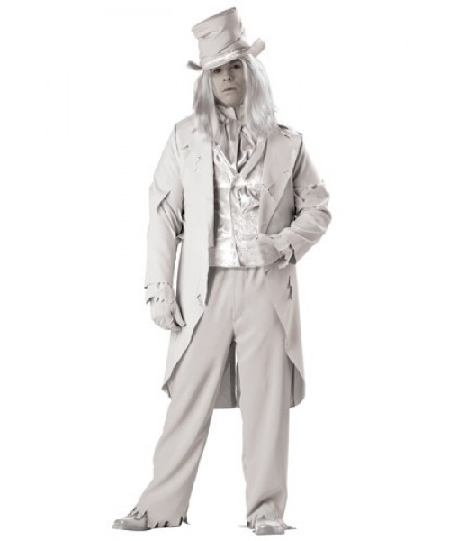Mens Ghostly Gentleman Plus Size Costume