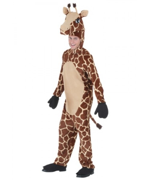 Mens Giraffe Plus Size Costume