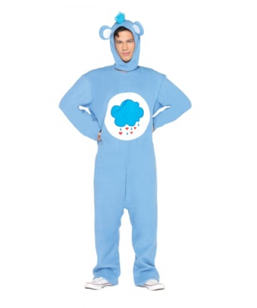 Mens Men's Grumpy Bear Plus Size Costume