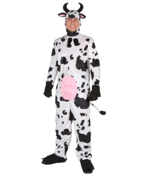Mens Happy Cow Plus Size Costume