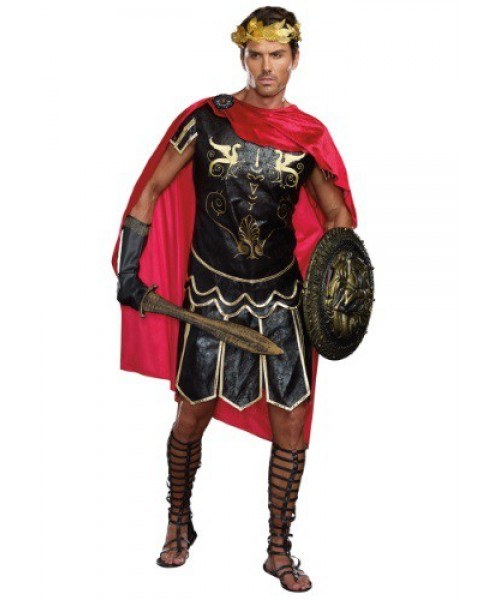 Mens Men's Julius Caesar Plus Size Costume