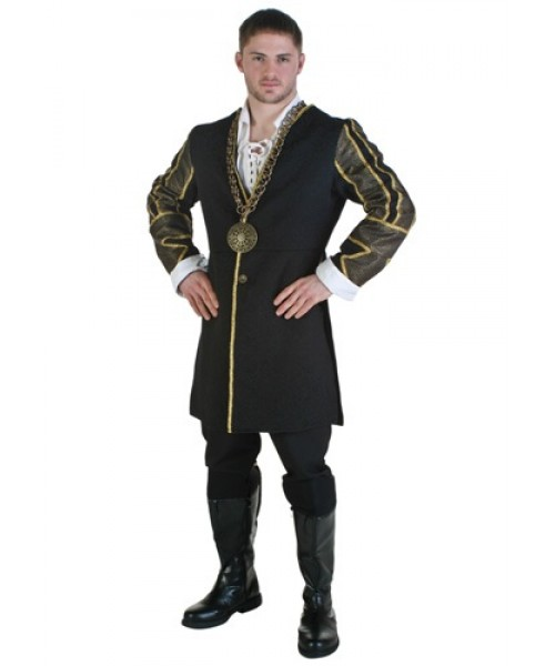 Mens King Henry VIII Plus Size Costume