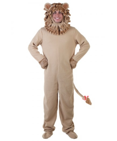 Mens Lion Plus Size Costume