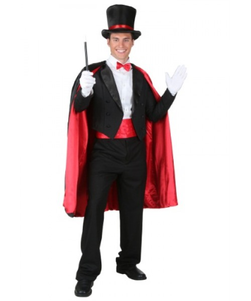 Mens Magician Plus Size Costume