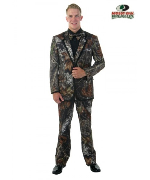 Mens Mossy Oak New Break Up Alpine Formal Tuxedo Plus Size Costume