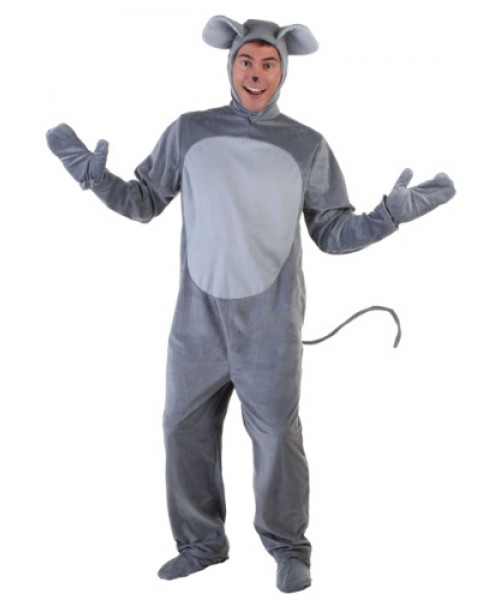 Mens Mouse Plus Size Costume