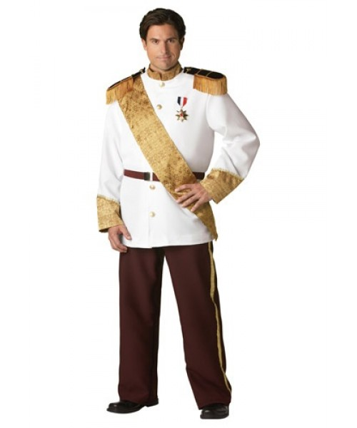 Mens Prince Charming Plus Size Costume