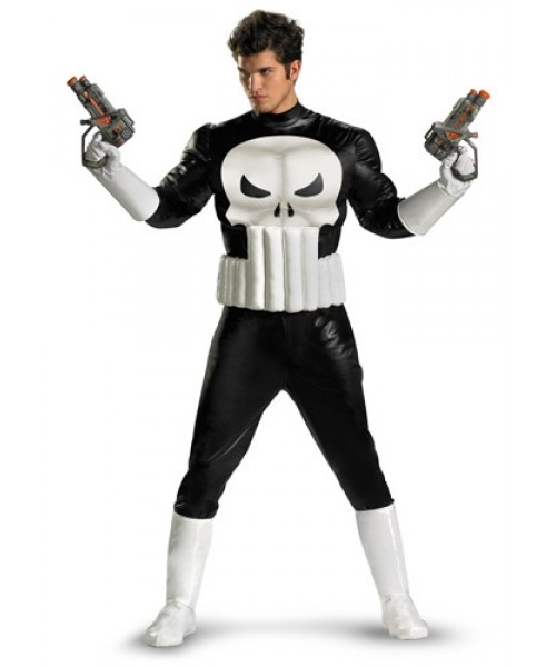 Mens Punisher Adult Plus Size Costume