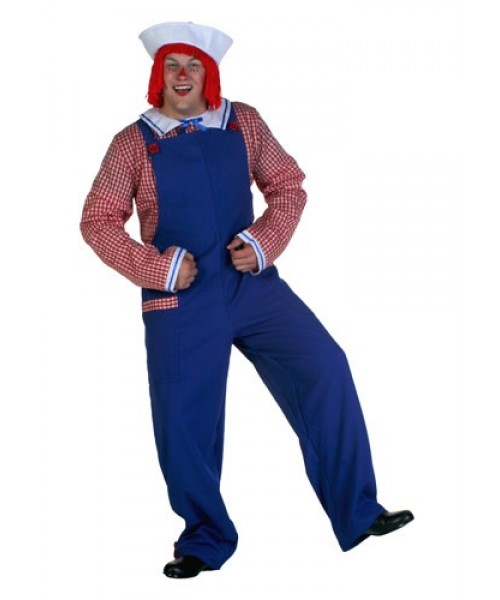 Mens Raggedy Andy Plus Size Costume