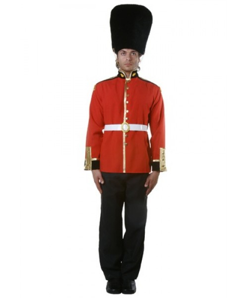 Mens Royal Guard Uniform Plus Size Costume
