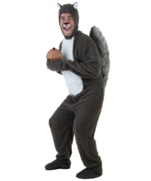Mens Squirrel Plus Size Costume