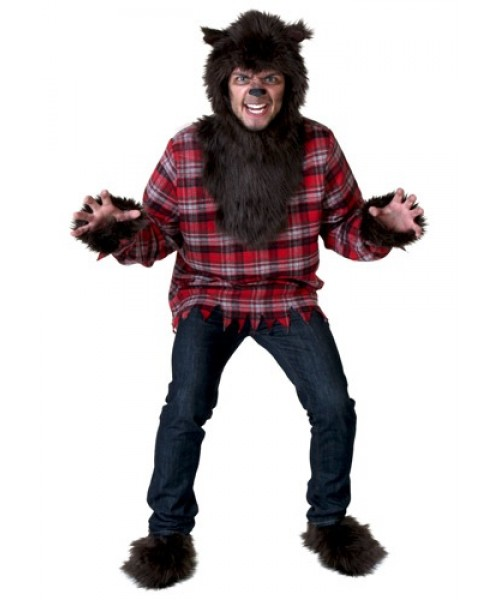 Mens Werewolf Plus Size Costume