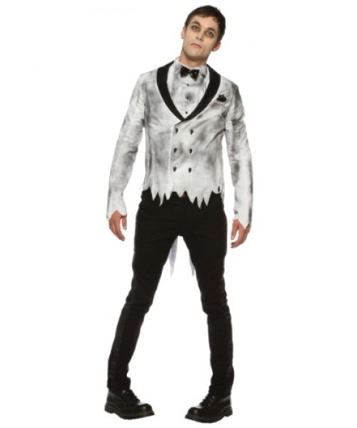 Mens Zombie Groom Plus Size Costume