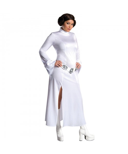 Princess Leia Womens Plus Size Costume