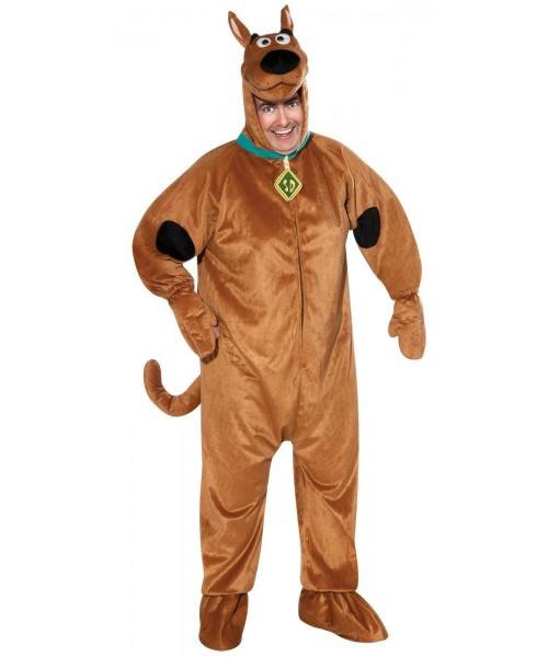 Scooby Doo Mens Plus Size Costume