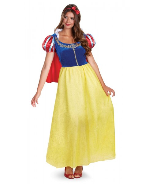 Snow White Deluxe Womens Plus Size Costume