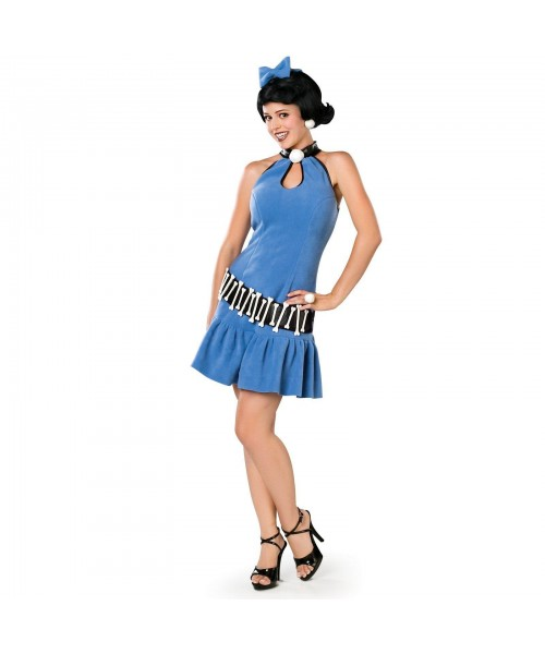 The Flintstones Betty Rubble Womens Plus Size Costume