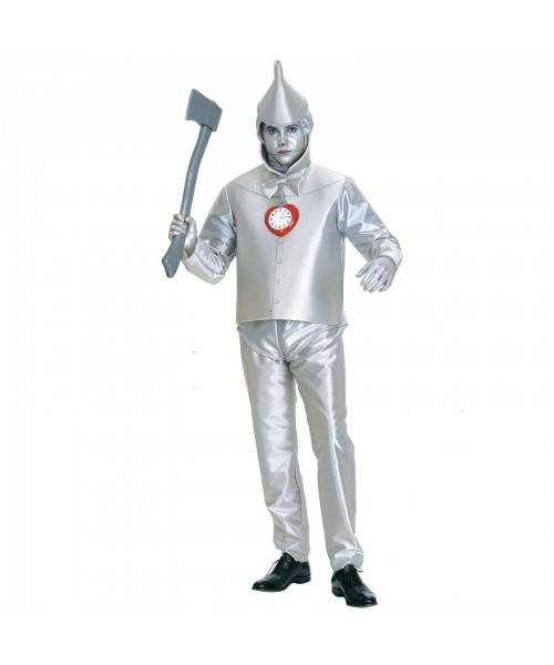 Tin Man Mens Plus Size Costume