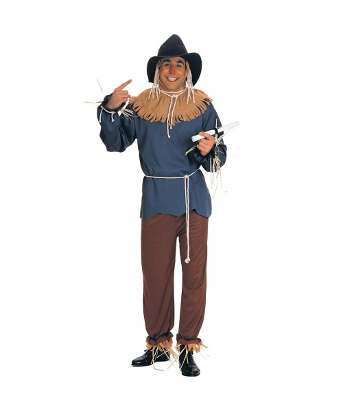 Wizard of Oz Scarecrow Mens Plus Size Costume