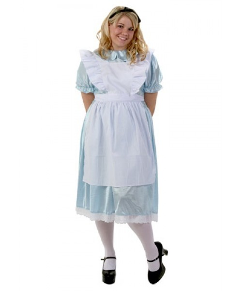 Womens Alice Plus Size Costume