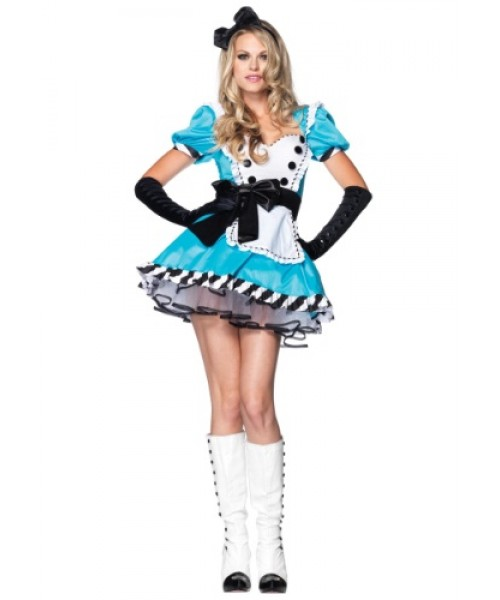 Womens Charming Alice Plus Size Costume