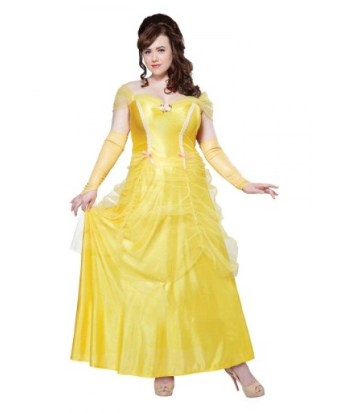 Womens Classic Beauty Plus Size Costume
