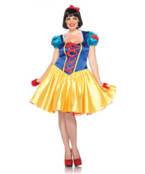 Womens Classic Disney Snow White Plus Size Costume