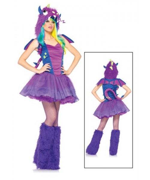 Womens Darling Dragon Plus Size Costume
